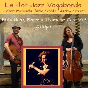 Le Hot Jazz Vagabonds Bull's Head Advert